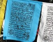 Windhorse Tibetan prayer flags - set of ten