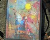 Blue Buddha Blank Journal Book