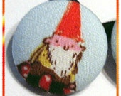 Pair of small Gnome Ponytail Holders (2) Norman and Ray by MJD Boutique