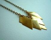 Trinket Necklace -- Diamonds