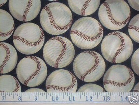 Fabrication Balle de Baseball Baseball Quilt Fabric Take