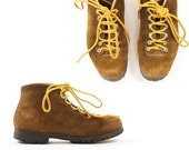 Fabiano Suede Lace Up Hiking Boots Women's sz 6.5 / 7