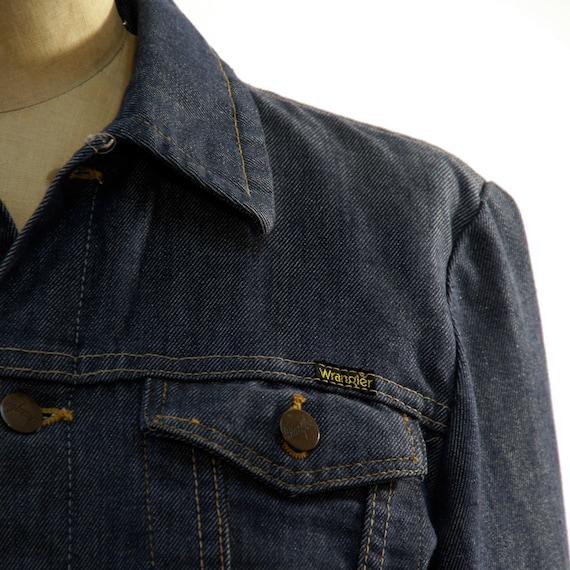 Wrangler Denim Jacket / Dark Wash / Skinny Fit