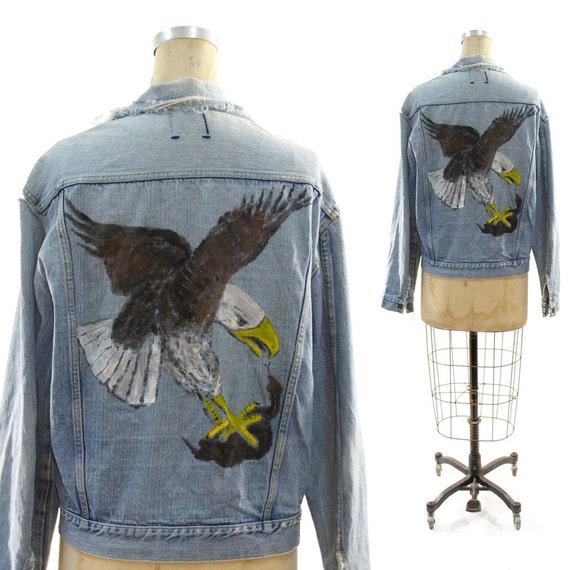 70s Denim Eagle vs Snake Jacket