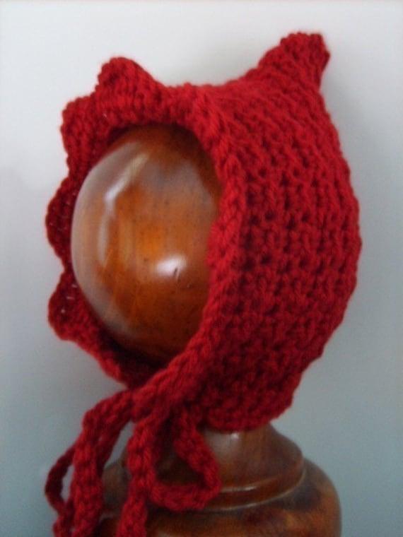 PDF crochet pattern...little red riding hood