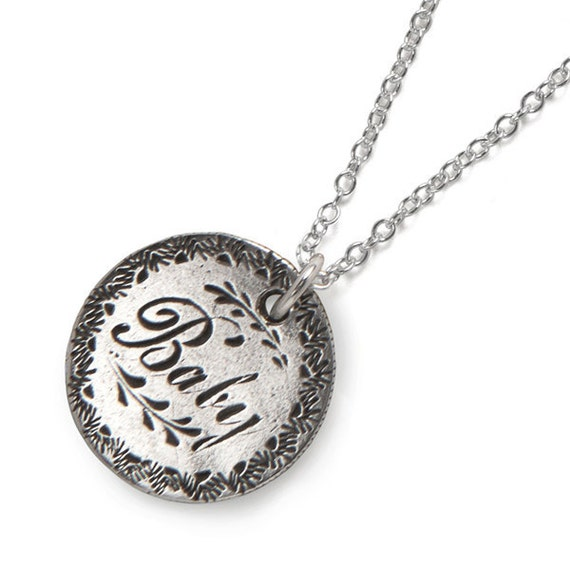 Baby - Sterling Love Token Necklace