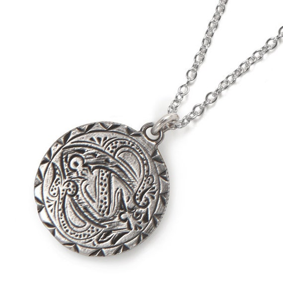 Celtic Lovers Knot - Sterling Love Token Necklace