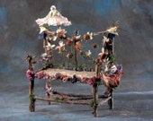 "Print, Fairy Furniture, ""Afternoon at the Opera Loveseat"""
