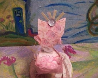 Fairy Chair, Cute Little Pink Throne