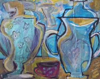 """Original painting, """"Abstraction"""""""