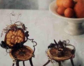 "Print, ""Dreaming Teatime in Orange Land"""