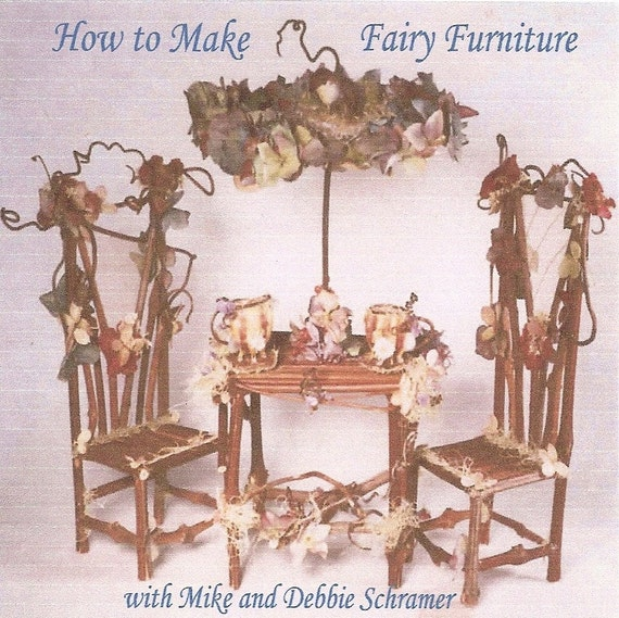 DVD, How to Make Fairy Furniture, An Art Instruction Film
