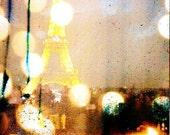 lights of paris print 8x8