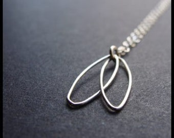 Silver Sprout Necklace
