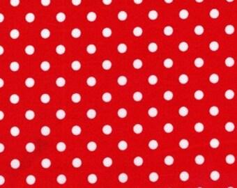 Michael Miller Dumb Dot, Red 1 Yard