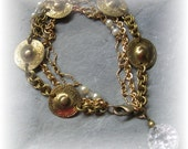 Brassy, an original Mixed Chain bracelet
