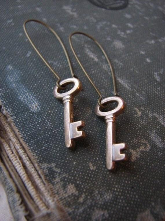 SECRECY Earrings.....long earwires