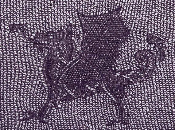 Cedric, The Celtic Dragon (PDF pattern)