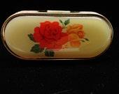 Circa 50s lipstick and mirror compact case