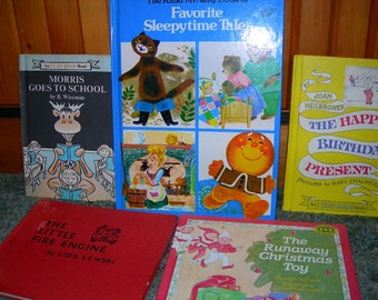 Childrens Books Assortment of 5 Hard Cover
