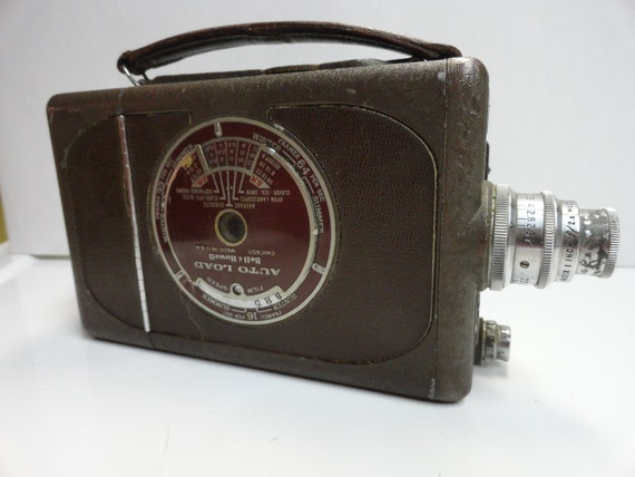 1940s Bell and Howell movie camera