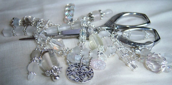 Petite Ice Ice Baby Fantasy Fob with Silver Scissors