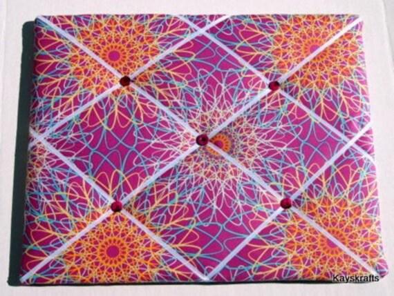 Designer Plum Spiral Memory Board French Memo Board 14X11 Melissa Averinos on Etsy