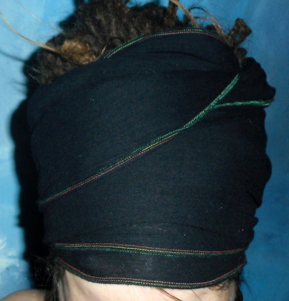 Hair Wrap - Hair Scarf - Neck Tie - Sash - Scarf -Turban - All in One Accessory - Simple ROOTS Goddess or MAN Wrap