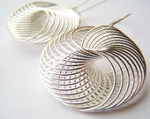 Spiro - Modern, Mini Spiral Wire Earrings