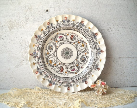 Spode Copeland Luncheon Plate Florence Vintage