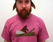 Bigfoot T-shirt (Medium Purple)