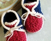 Instant Download - Crochet Pattern - Baby Vintage Inspired High Top Booties PDF 4