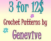 Crochet Patterns Discount Coupon Multiple Purchase