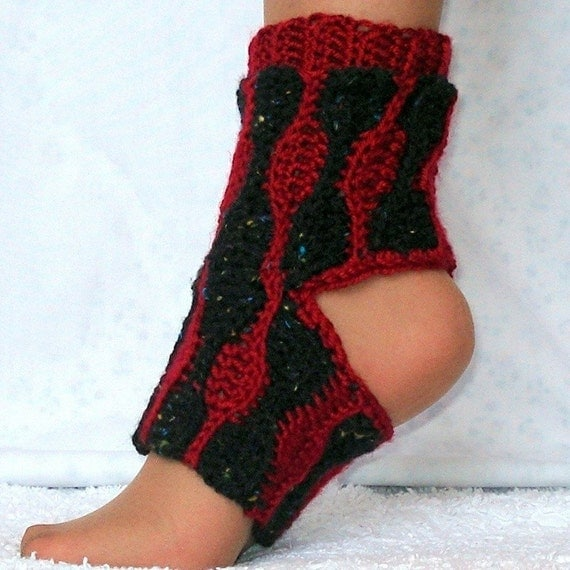 Yoga Socks Crochet Pattern Kids and Adults