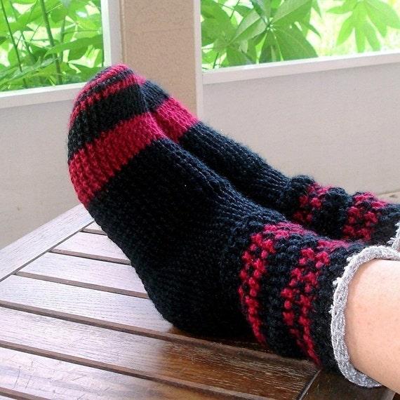 Instant Download - Crochet Pattern - Sweater Socks all sizes PDF 15