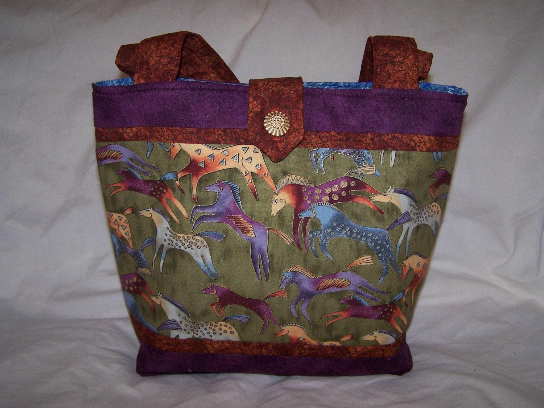 Laurel Burch Tote Bag Purse