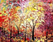 The Height of a Season - 8x10 autumn landscape archival print by Aja