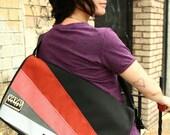 Medi Sunburst Messenger Bag
