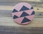 Geometric Apricot Ring