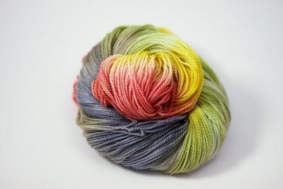 SUMMER SALE Devotion - Polworth Wool Silk blend sportweight yarn