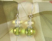 Green Apples and Pineapples Earrings
