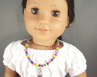 Wise Owl Necklace for AG style doll