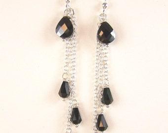 Teardrop Cascade Earrings