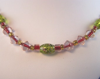 Colors and Textures Necklace