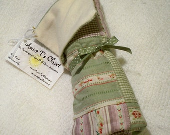 Gender Neutral Changing Pad - Purple and Green Madras Plaid for Etsykids