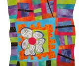 Whimsical Art Quilt - Foot Loose and Fancy Free Series Number 1