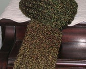HERB GARDEN Long and Soft Scarf without Fringe