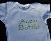 Accio Bottle- Embroidered Onesie