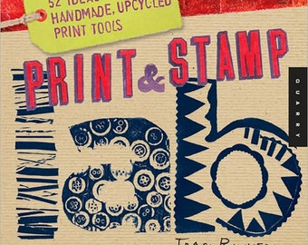 Print & Stamp Lab book by Traci Bunkers