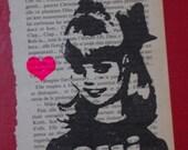 OUI Gocco Print by Gemma Jones